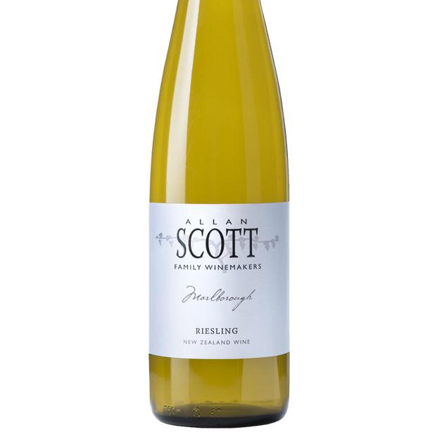 Allan Scott Marlborough Riesling wine