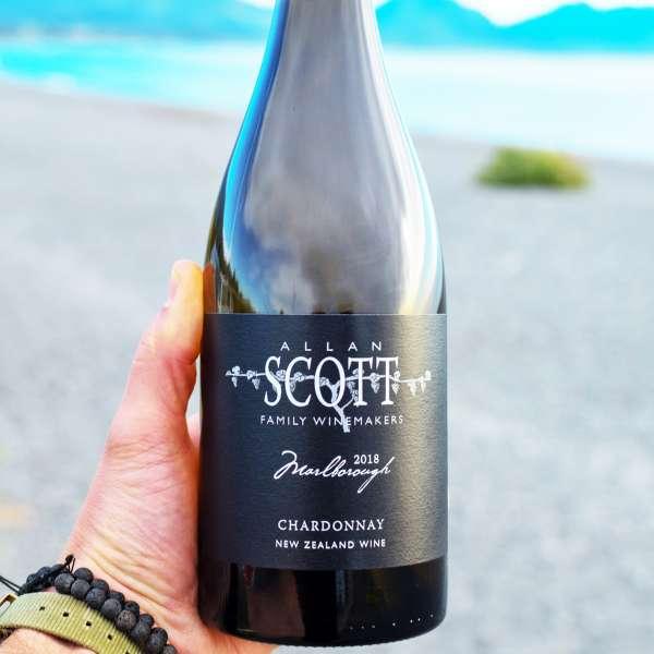 Allan Scott premium black label chardonnay