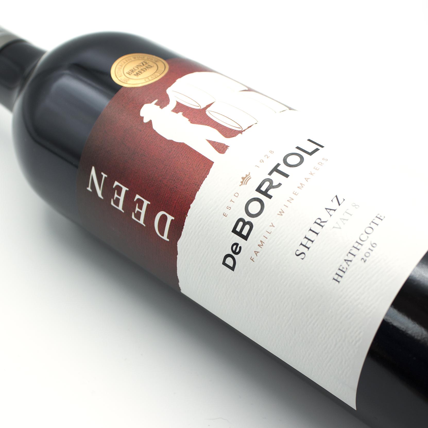 De Bortolie wines Vat 8 Shiraz
