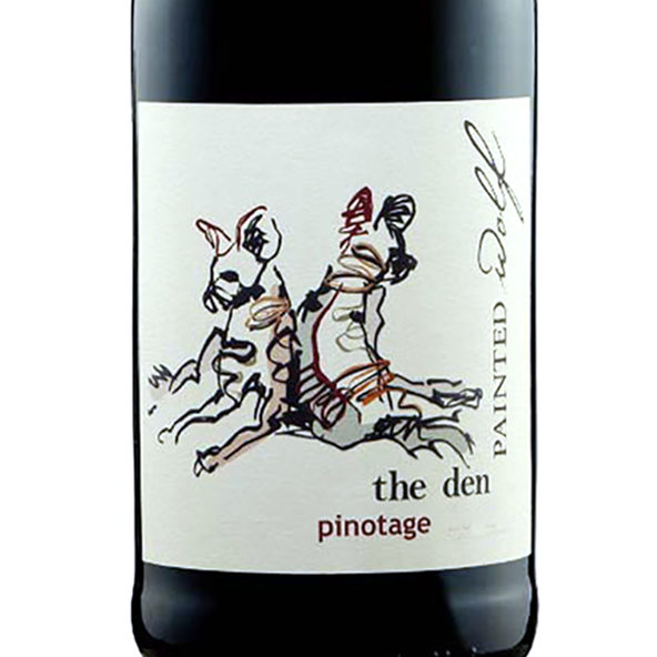 Den Pinotage Painted Wolf Wines