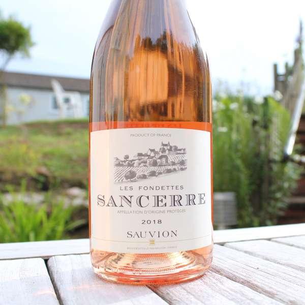 Sancerre Rose Les Fondettes Domaine Sauvion