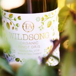 Wildsong organic Pinot Gris Hawkes Bay