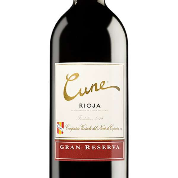 CUne Rioja Reserva bottle zoom photo