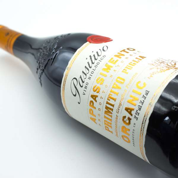 Passitivo Appassimento Primitivo Organic red wine from Italy
