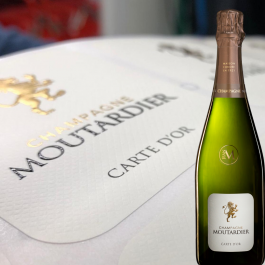 CHampagne Moutardier Carte d'Or Brut Champagne