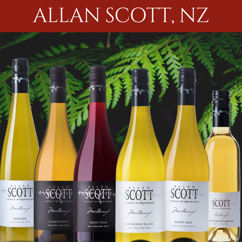 Allan Scott winery mixed case Marlborough New Zealand