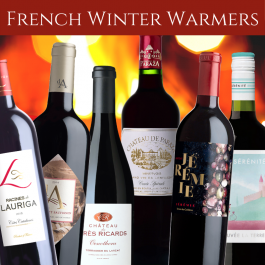 French Winter red wines mixed case