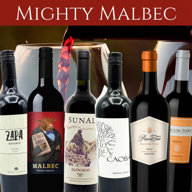 Malbec wine mixed case
