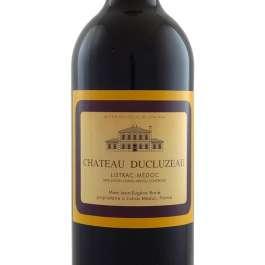 Ducluzeaux claret bottle