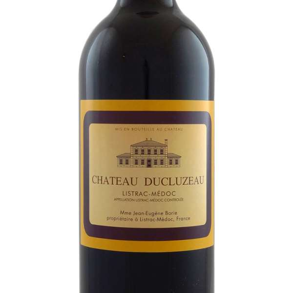 Ducluzeaux claret bottle