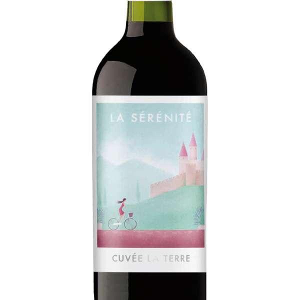 La serenite regional french red wine