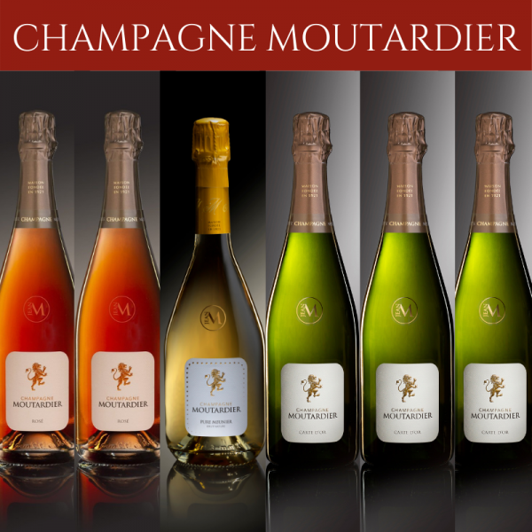 Champagne Moutardier mixed case