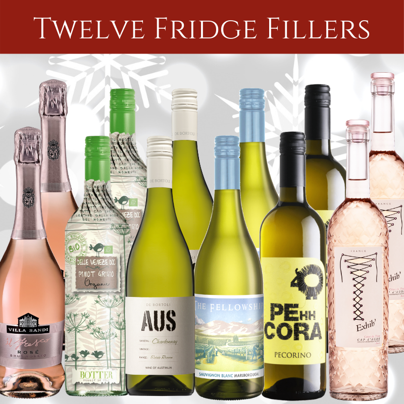 Favourite white and rose wines in mixed case