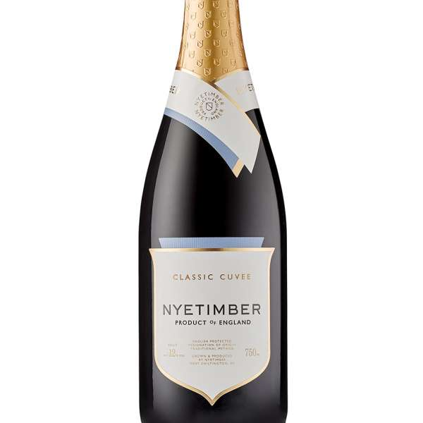 Nyetimber classic cuvee english sparkling wine
