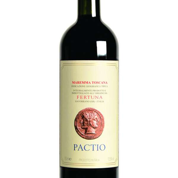 Pactio Fertuna Italian red wine