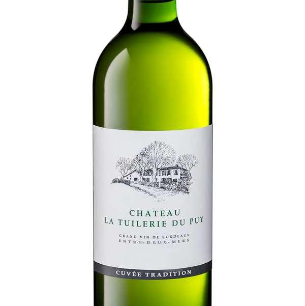 Chateau Tuilerie du Puy Bordeaux blanc bottle