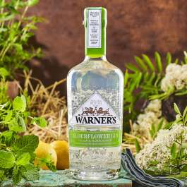 Warners elderflower gin