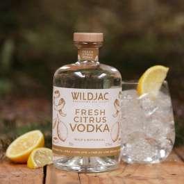 Wildjac Fresh Citrus Vodka made in worcestershire