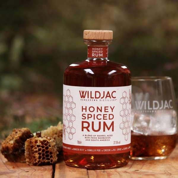 Wildjac honey spiced rum Worcestershire