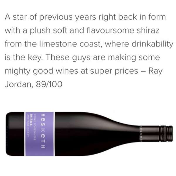 hesketh red wine press review