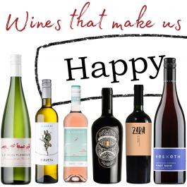 WINES THAT MAKE US HAPPY