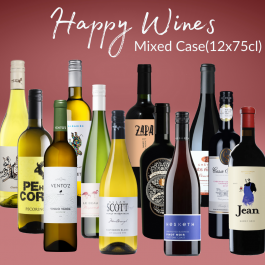 Twelves wines to make you happy in a mixed case