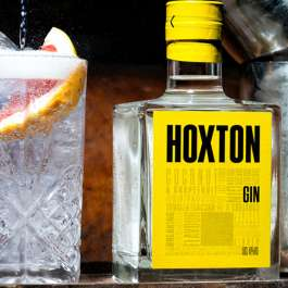 Hoxton gin with cocktail