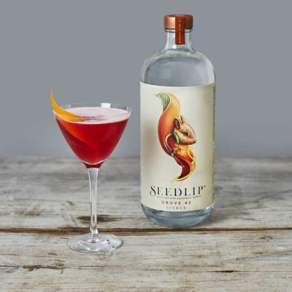 Seedlip Grove 42 alcohol free citrus