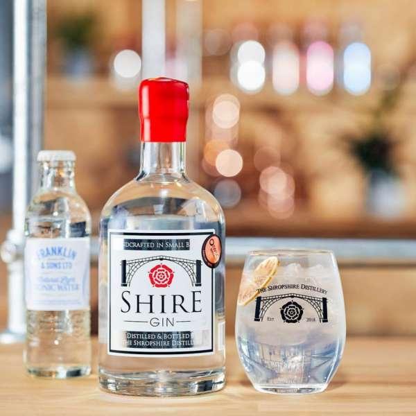 SHropshire distillery shire gin