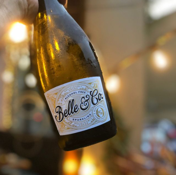 Belle and Co alcohol free sparkling wine