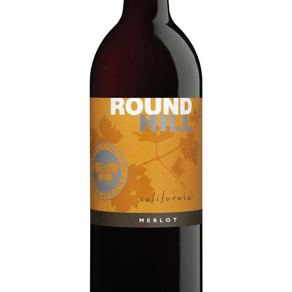 Round Hill Merlot Californian red wine