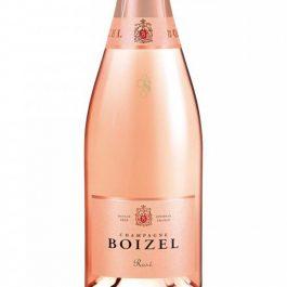 CHampagne Boizel rose bottle