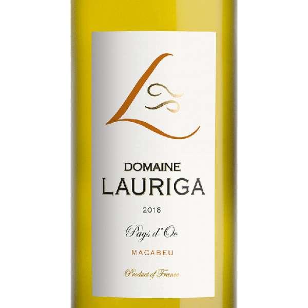chateau lauriga macabeu white wine paul mas