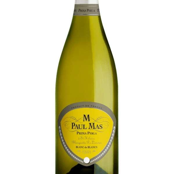paul mas sparkling wine blanquette de limoux prima perla bottle