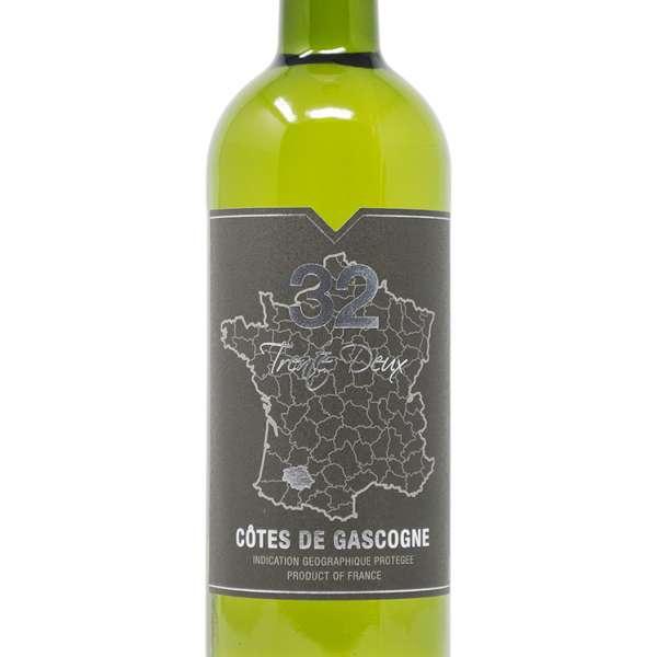 trente deux cotes de gascogne white wine