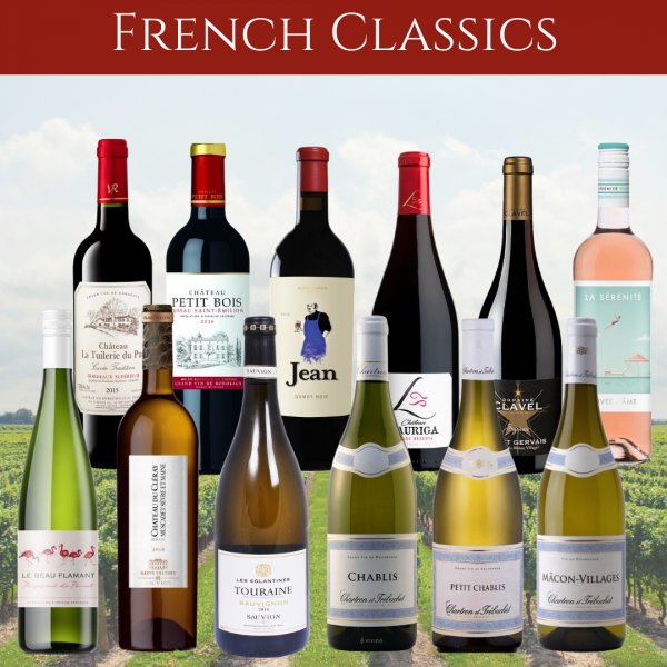 french wines mixed case