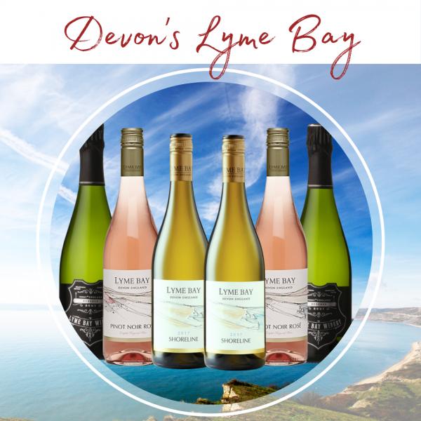 Lyme Bay winery mixed case