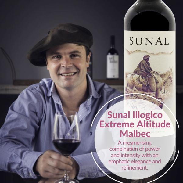 SUnal illogico Malbec Agustin Lanus wines