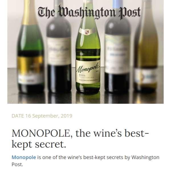CVNE Cune Monopole Rioja Blanco Washington Post