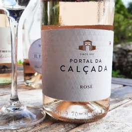 portal da calcada vinho verde rose