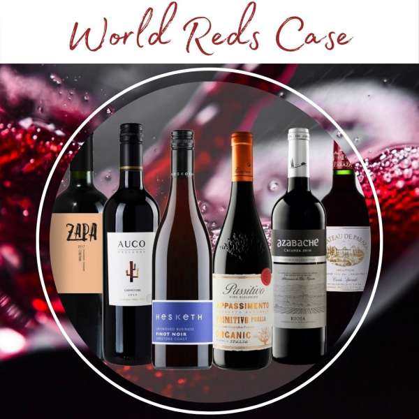 world reds red wine mixed case